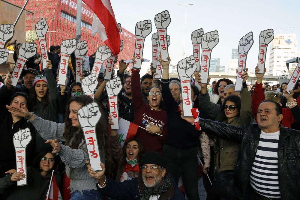 Líbano liberará a manifestantes tras una noche de protestas