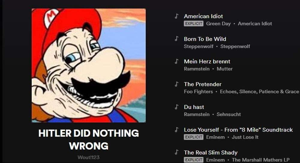 Spotify elimina listas de reproducción que glorifican a Hitler