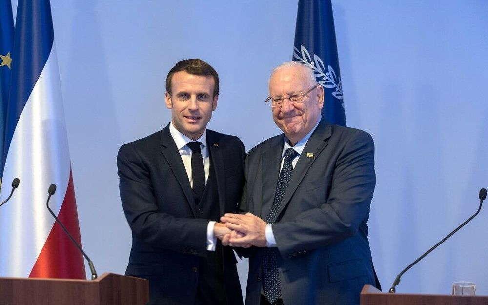 Rivlin insta a Francia a apoyar a Israel y oponerse a la investigación de la CPI