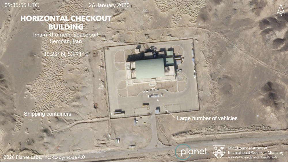 Irán se prepara para lanzar nuevo satélite al espacio