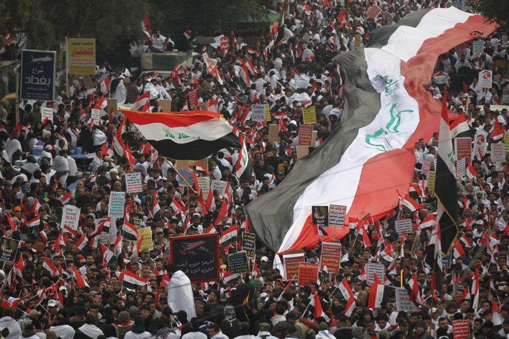Al menos tres muertos en operación contra protestas en Irak