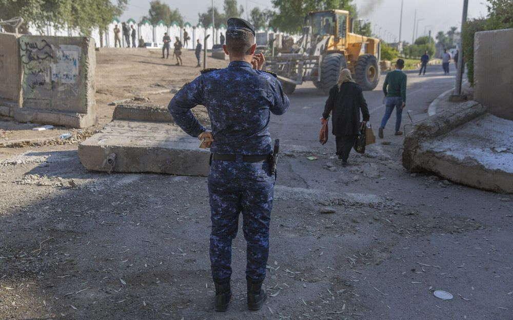 Tropas de élite iraquíes aseguran la embajada de Estados Unidos en Bagdad
