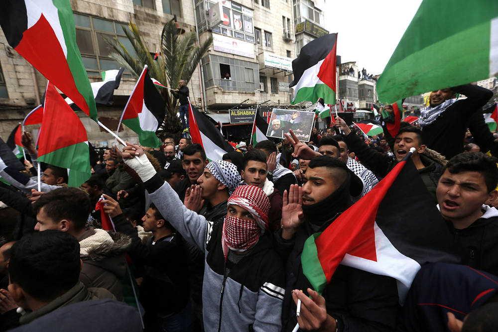 Miles de árabes se manifiestan en Judea y Samaria contra el plan de paz de Trump