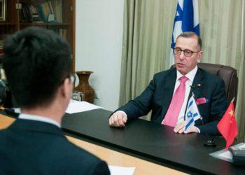 Embajador de Israel en China relata su vida en cuarentena en Beijing