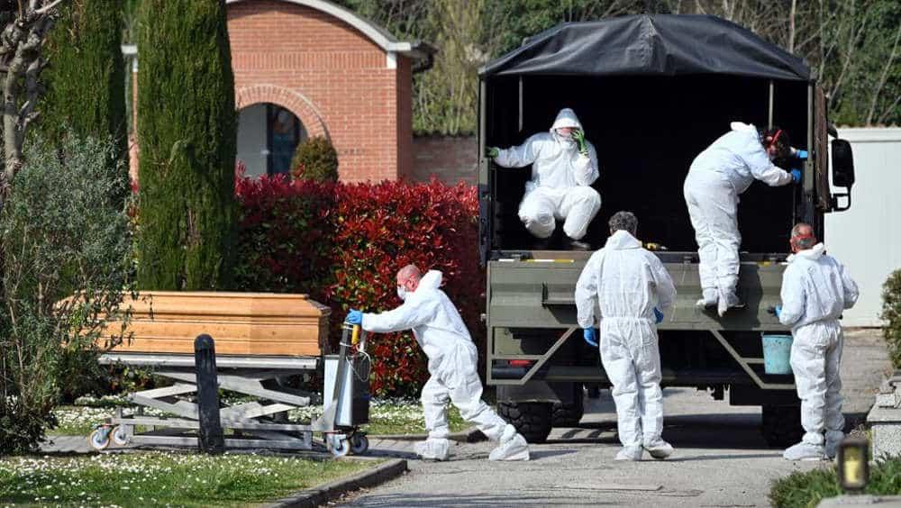 Italia registra récord de 919 muertes por coronavirus en un día