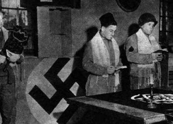 Purim en el castillo de Goebbels