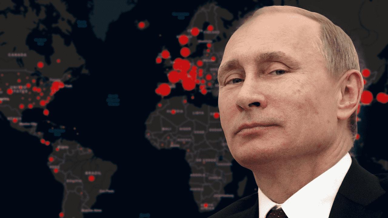 Mientras Occidente entra en pánico, Putin está mirando