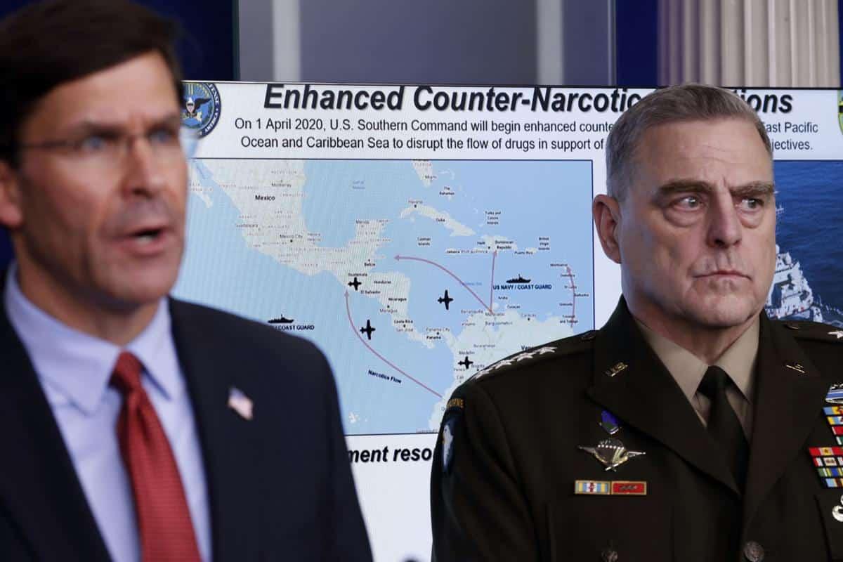 Buques de la Armada de Estados Unidos llegarán a la costa de Venezuela en acciones anti narcotráfico