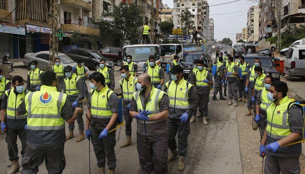 Hezbolá desvía su atención de la guerra en Siria para combatir el coronavirus en Líbano