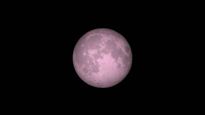 La súper Luna Rosa de abril