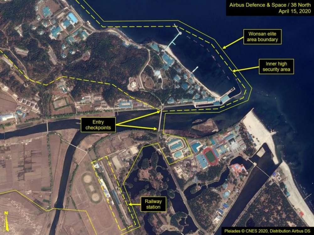 Posible tren de Kim Jong Un es localizado en ciudad turística de Corea del Norte