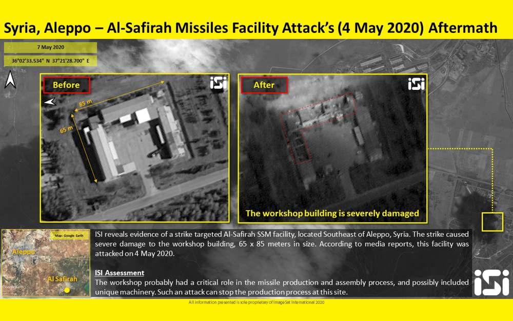 Aviones no identificados bombardean milicias respaldadas por Irán en el norte de Siria