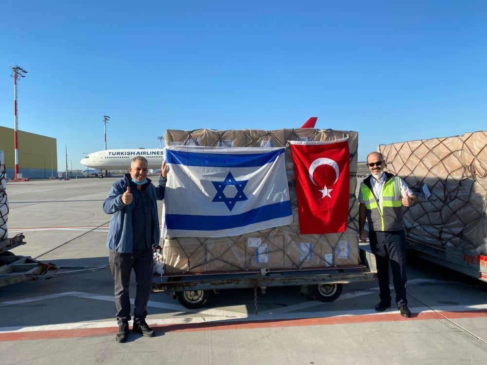 Avión de El Al aterriza en Turquía para recolectar suministros médicos para EE.UU.