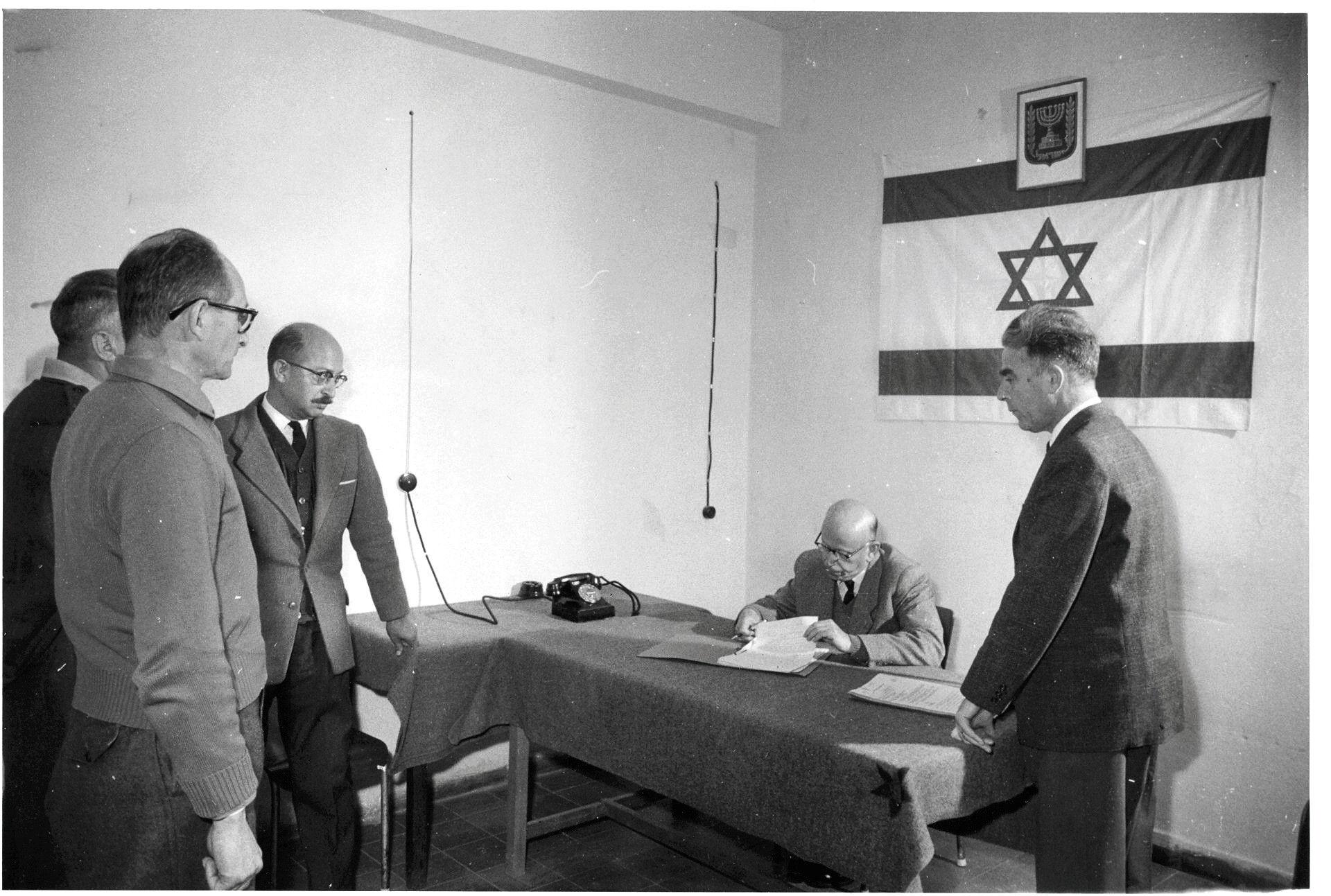 La unidad de policía israelí que construyó el caso contra Adolf Eichmann y fue olvidada