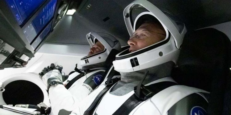 SpaceX prepara retorno de astronautas de la NASA a bordo de Crew Dragon