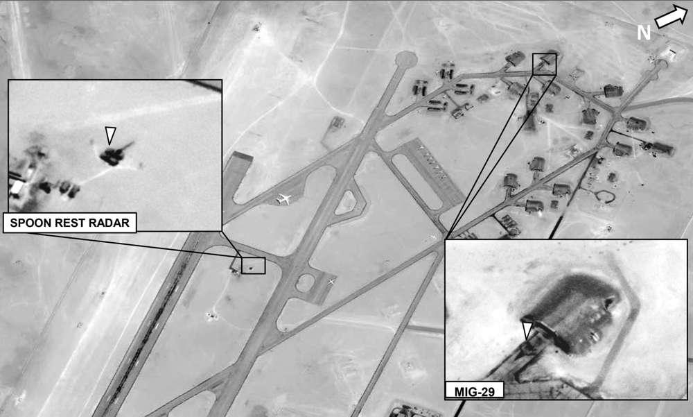 Cazas rusos en Libia