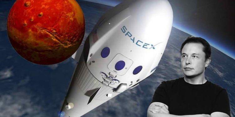Elon Musk quiere asegurarse de que Space X llegue a Marte