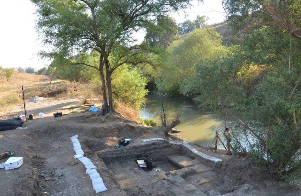 Conoce a las personas que pescaron en el río Jordán hace 20.000 años