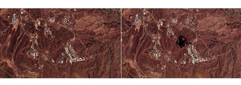 Gran explosión en Irán provino de sitio de producción de misiles, según imágenes de satélite