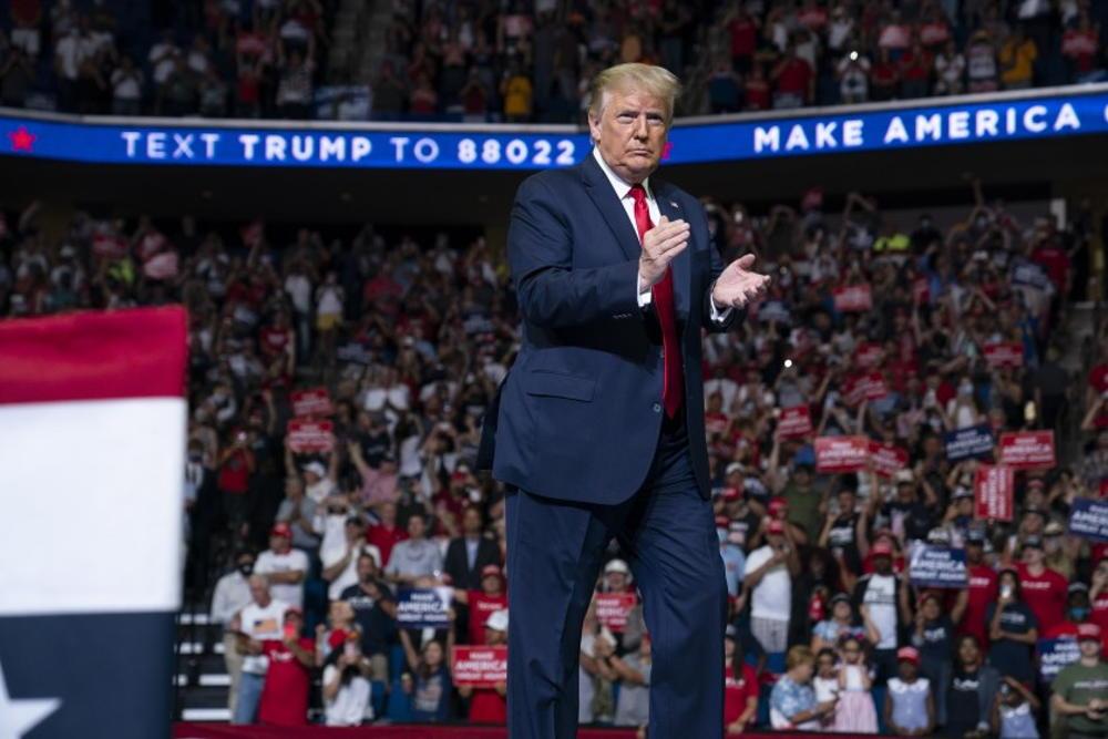"""Irán observó el mitin de Trump en Tulsa en busca de signos de un posible """"acuerdo"""""""