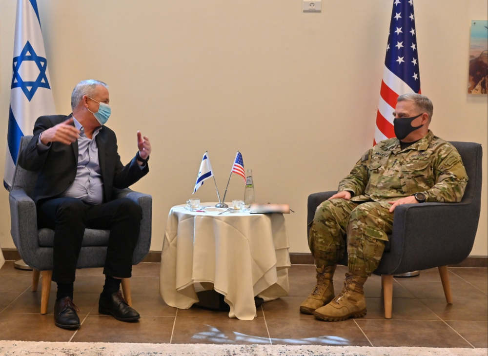 Jefe militar de EE.UU. visita Israel para conversaciones sobre Irán y Medio Oriente
