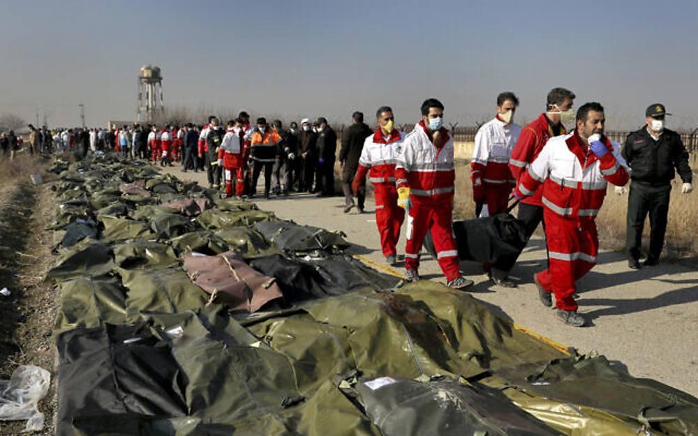 Ucrania elogia las primeras conversaciones con Irán sobre el avión de Ukraine Airlines derribado