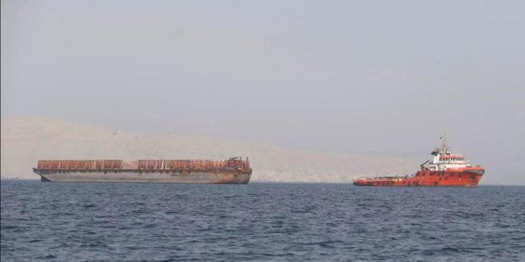 Petrolero desaparecido en EAU es encontrado en una isla de Irán