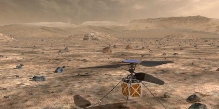 NASA lanza robot para buscar signos de vida pasada en Marte