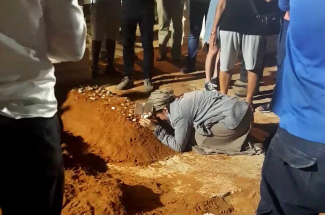 Se llevó a cabo el entierro del rabino asesinado por islamista palestino