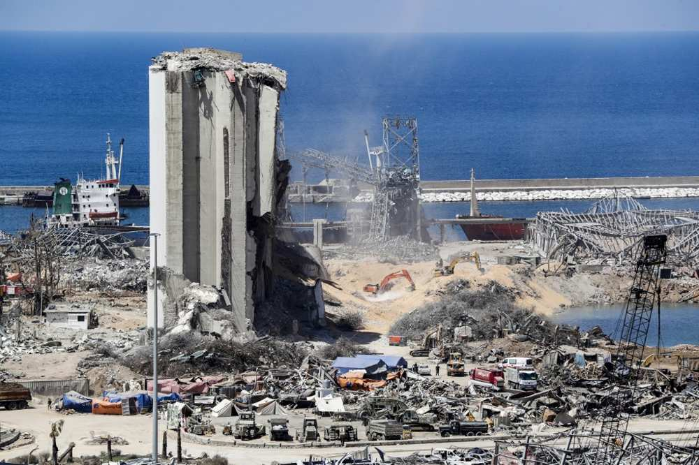 Explosión en Beirut causó pérdidas valorizadas en $ 8 mil millones, advierte el Banco Mundial