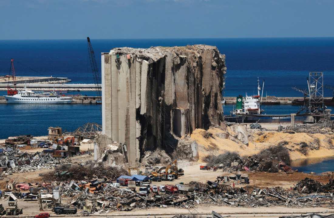 FBI: El nitrato de amonio que explotó en Beirut fue solo una fracción del envío original