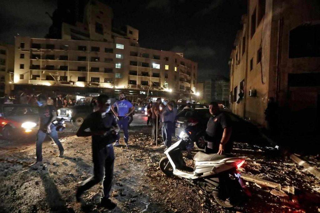 Escenas de un Beirut roto