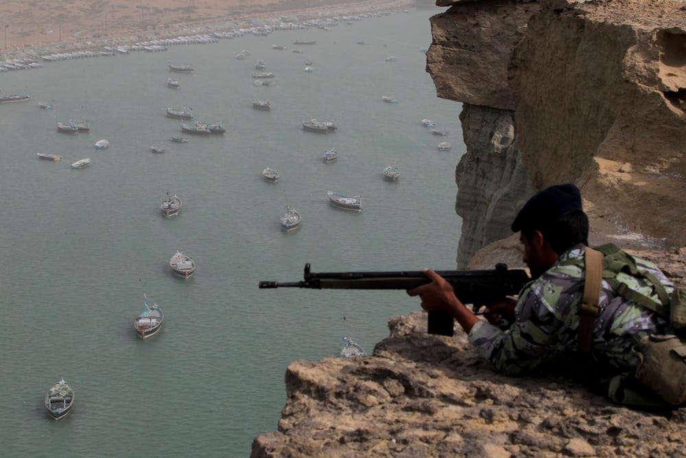 Personal militar iraní