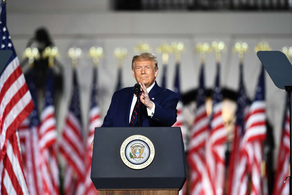 Trump acepta formalmente la nominación presidencial