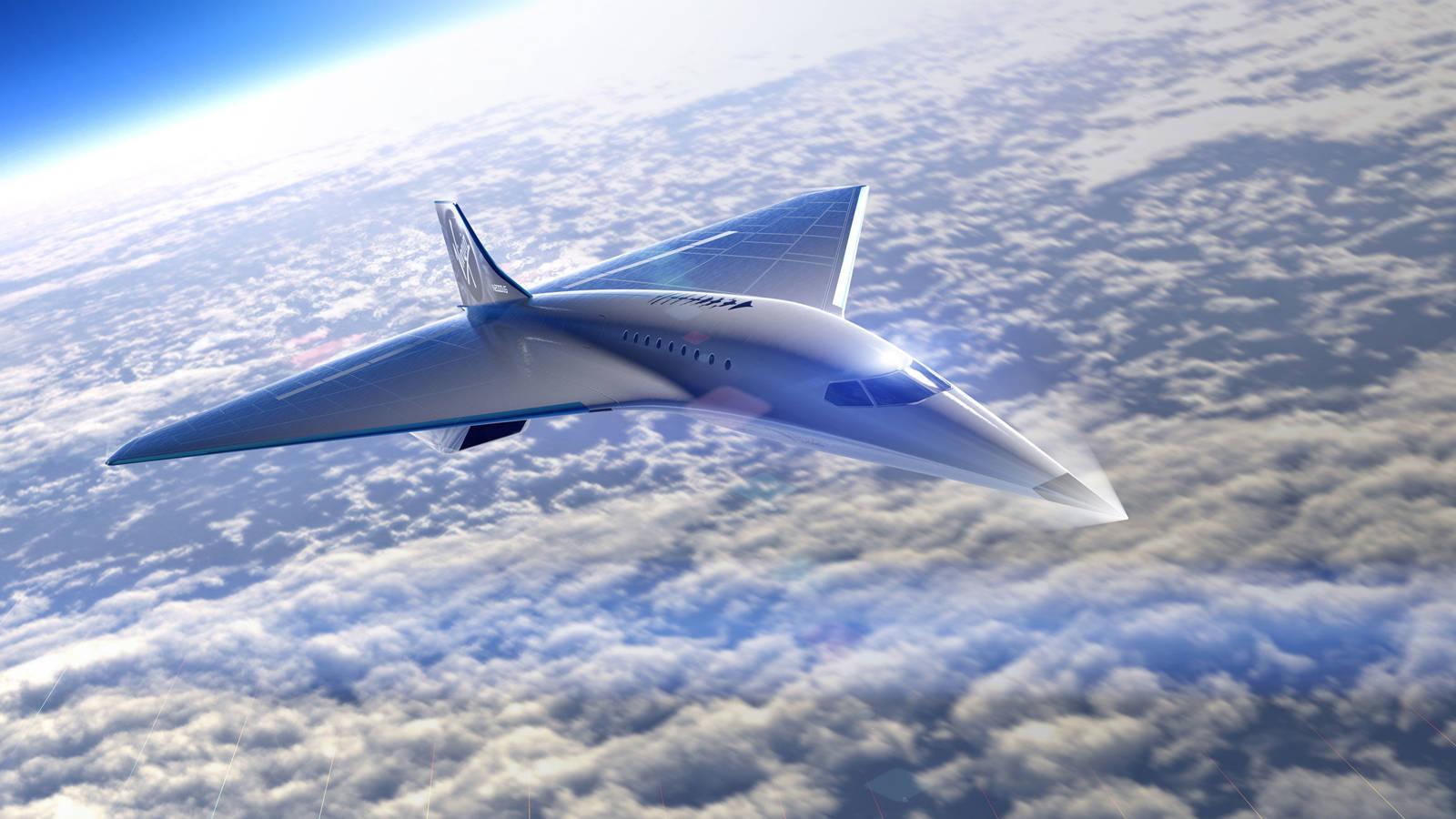 Virgin Galactic revela diseños de su avión supersónico