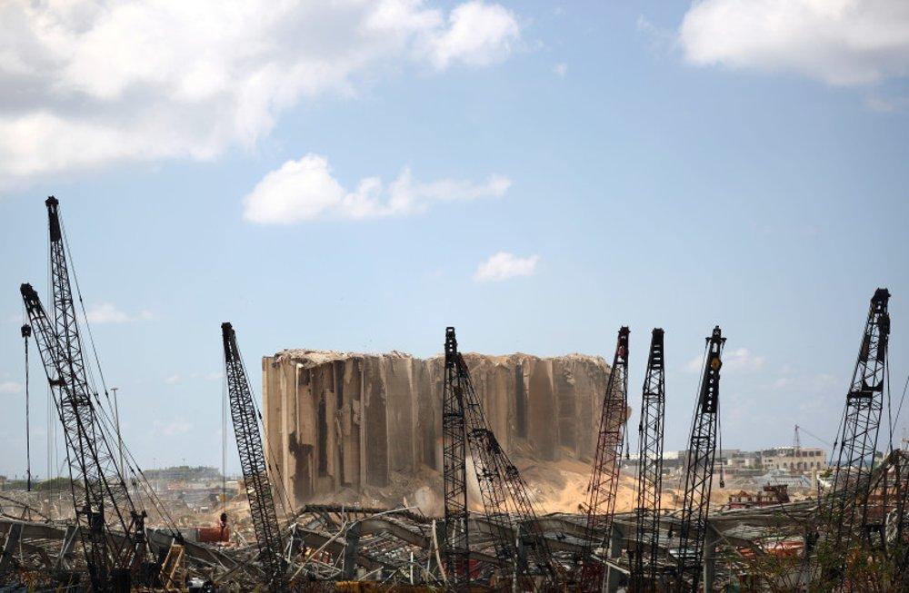 Kuwait reconstruirá el único almacén de cereales de Líbano luego de la explosión en Beirut