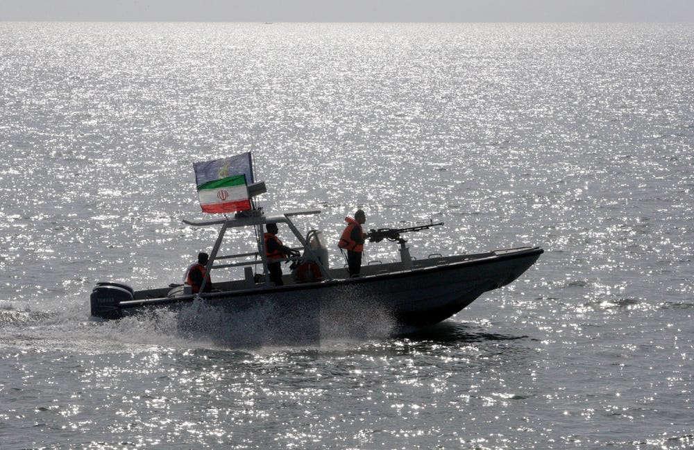 lancha iraní