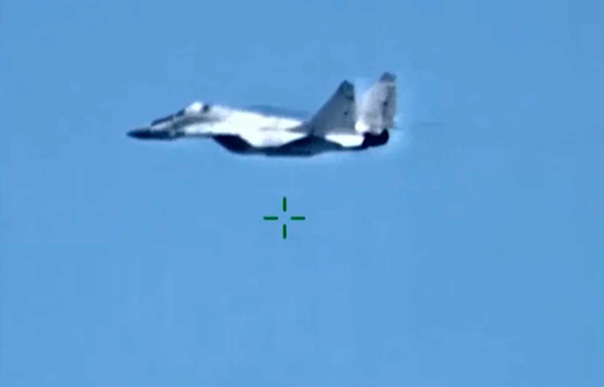 Avión de combate MiG-29 de Rusia fue derribado sobre Libia