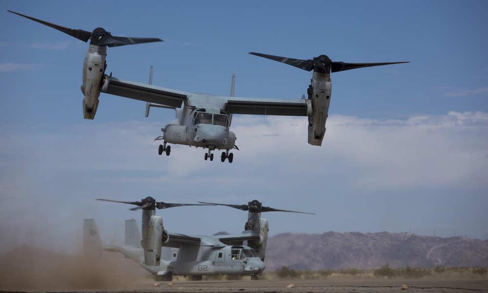 Israel está en conversaciones para comprar 12 aeronaves V-22 Osprey