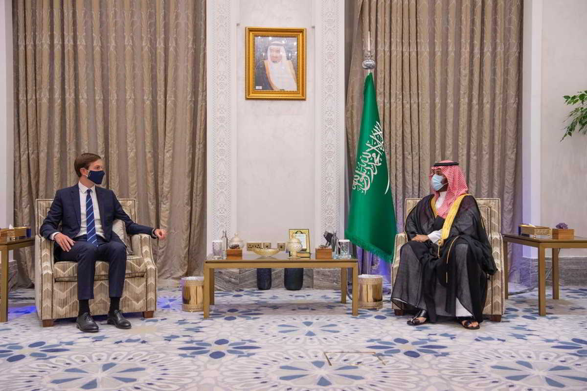 Kushner se reúne con el príncipe heredero saudí