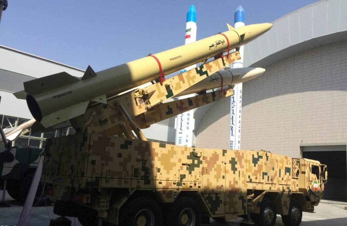 IRGC de Irán presenta misil balístico naval con rango potencial de 700 kilómetros