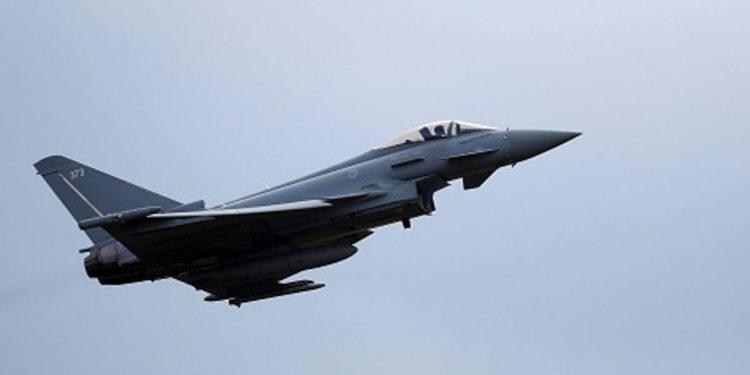 Cazas Typhoon de la RAF enviados al Mar Negro en medio de tensiones con Rusia