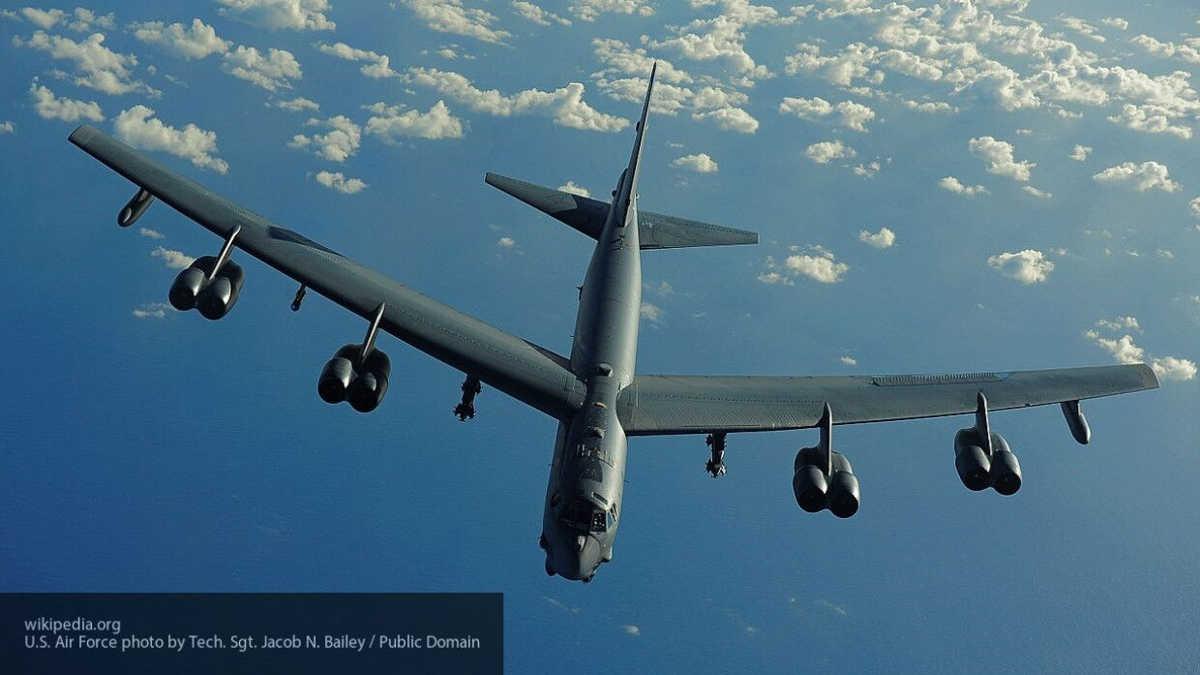 Bombarderos estratégicos B-52H de la Fuerza Aérea de los EE.UU. avistados sobre el norte de África