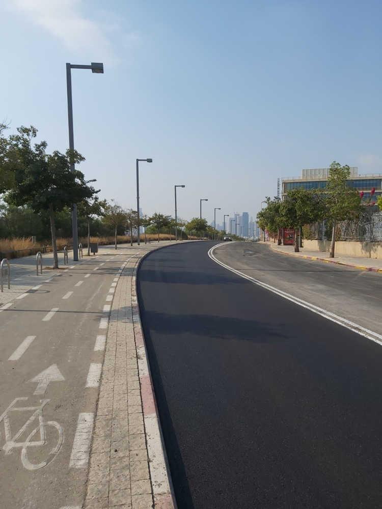 carretera electrica de Tel Aviv 2