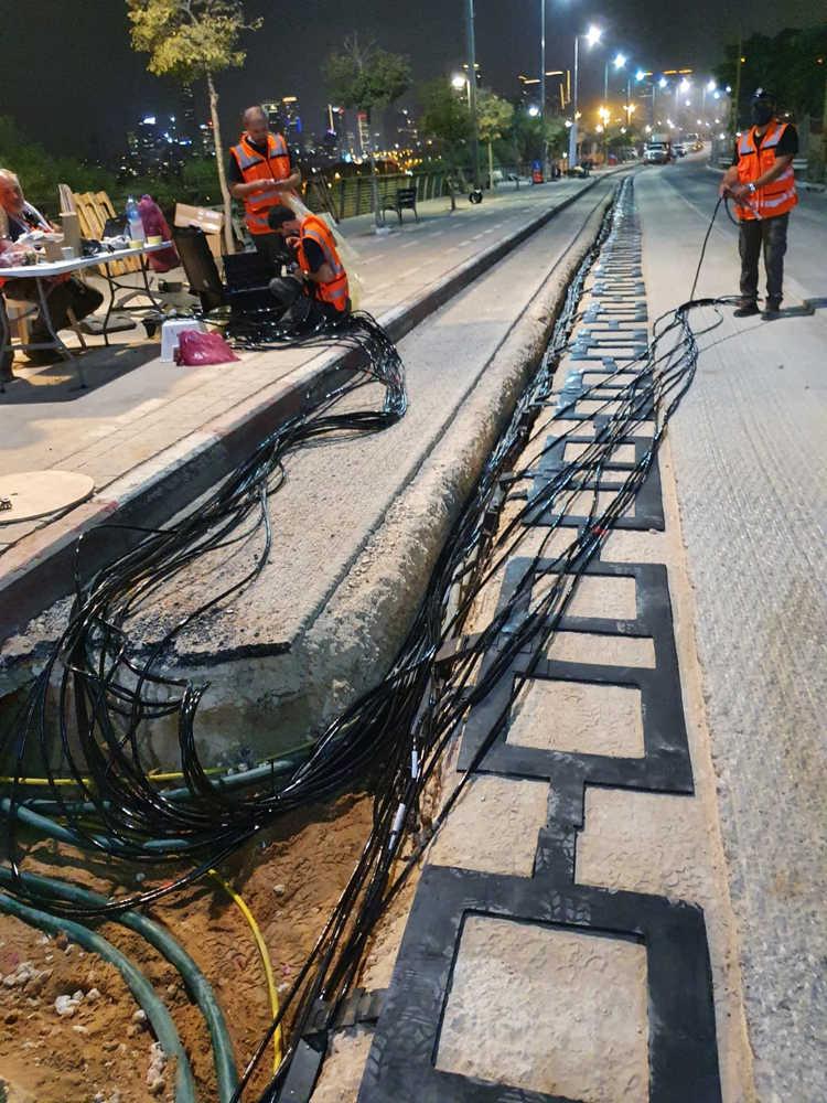 carretera electrica de Tel Aviv
