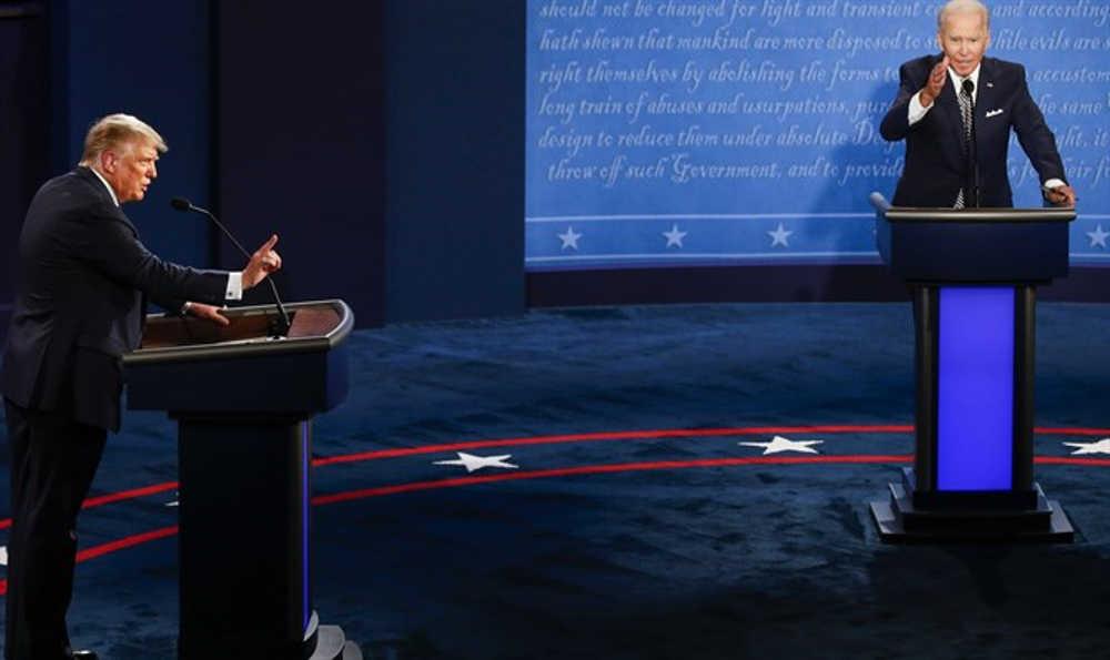 Según encuesta de CNN Joe Biden ganó a Trump en el primer debate