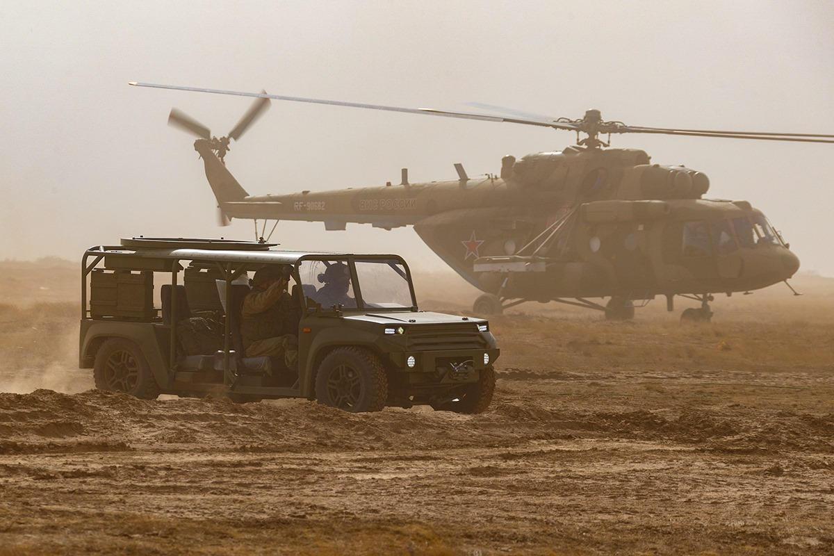 Rusia lanza ejercicio militar a gran escala Kavkaz-2020 2