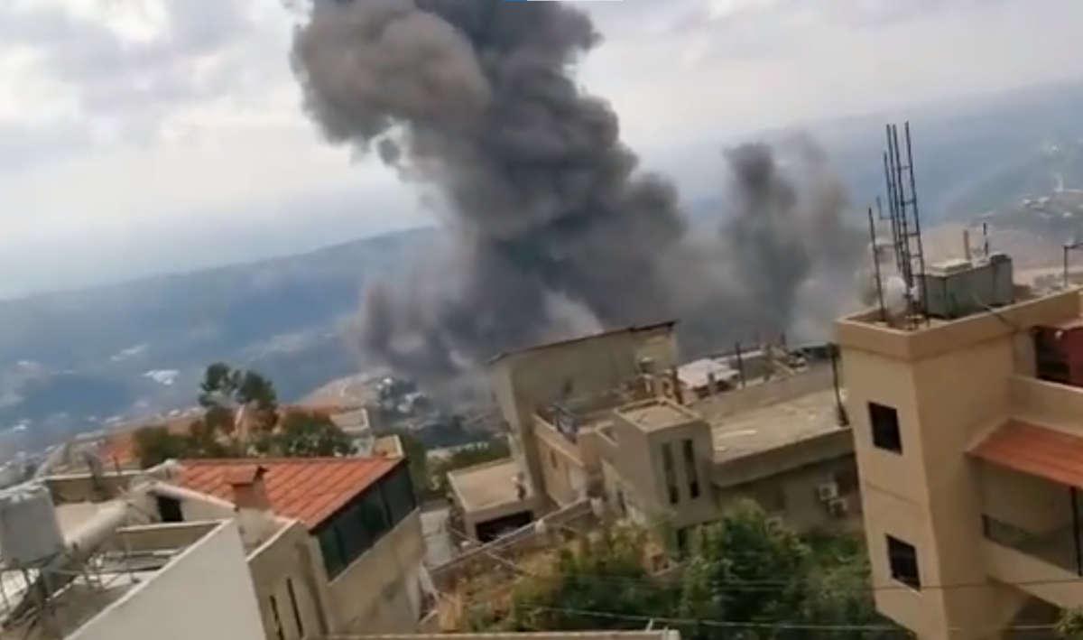 Potente explosión escuchada en una ciudad del sur de Líbano