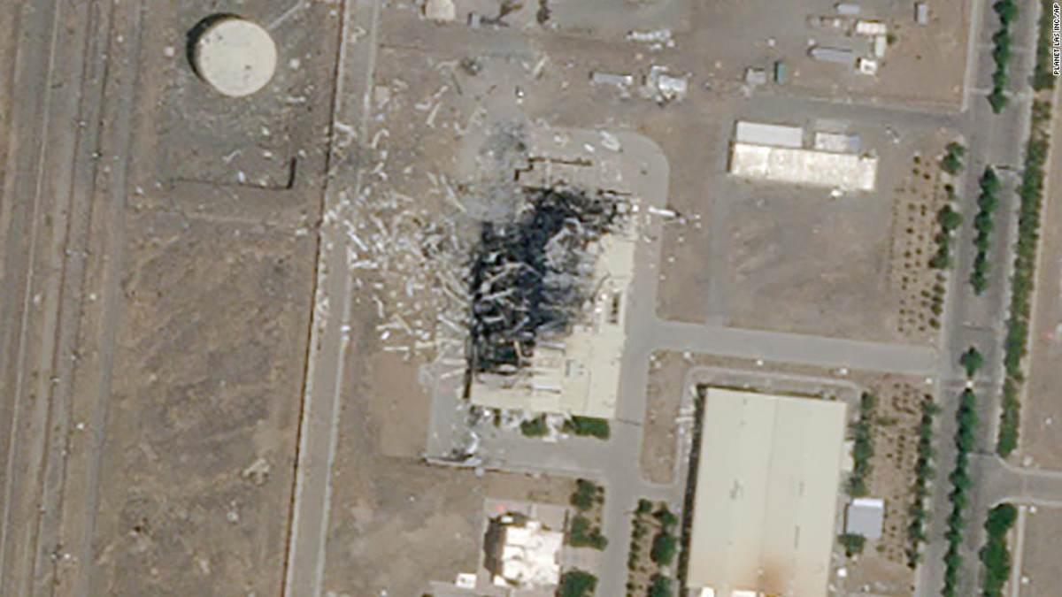 """El objetivo de la explosión en Natanz era enviar un mensaje """"claro"""" a Irán"""