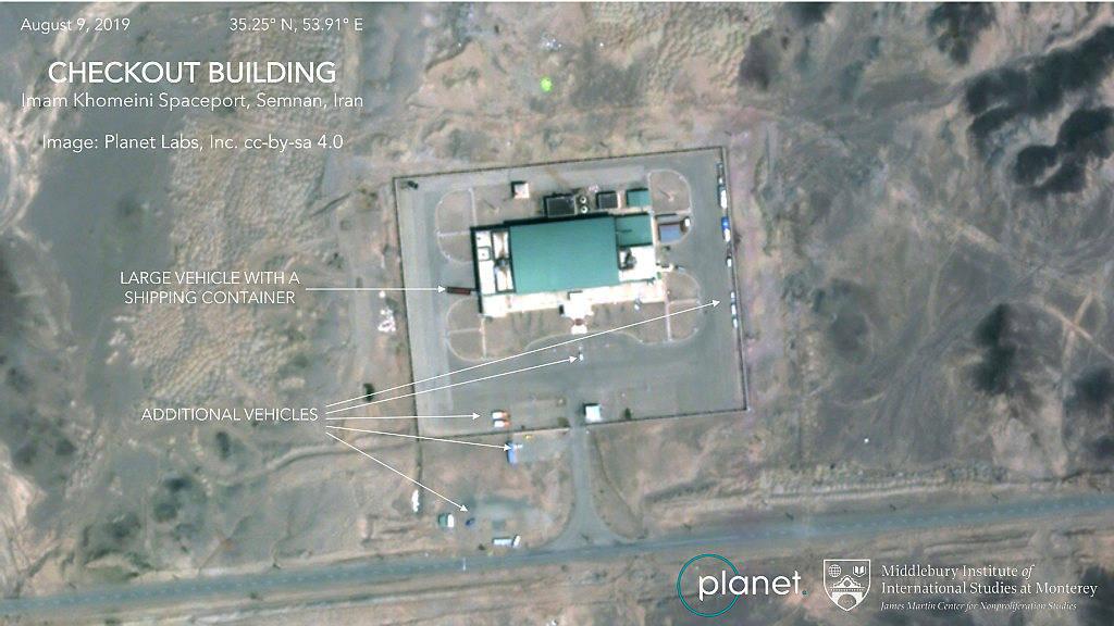 iran satelital image